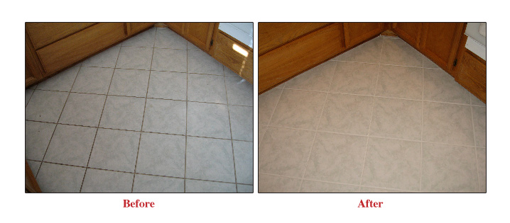 Can you stain tile floors